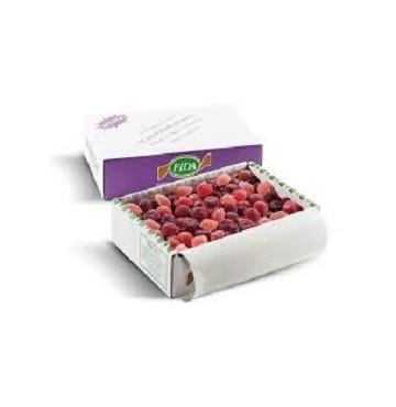 Golosinas de Frutas del Bosque, fruta italiana natural 250g