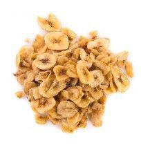 Banana Chips, bandeja 250 gramos.