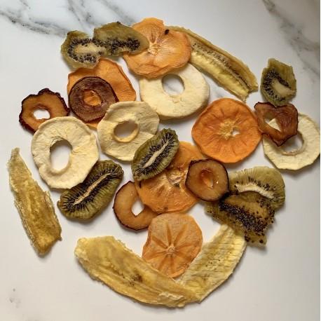 Mix de Frutas Chips Deshidratadas Naturales 500 g