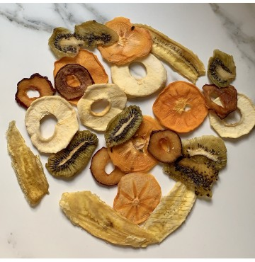 Mix de Frutas Chips Deshidratadas Naturales 100 g