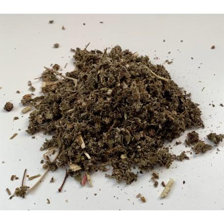 Frambuesa hojas, bandeja 100 gramos