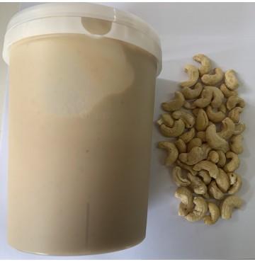 Crema de Anacardo Tostado 100% Natural. 1 Kg