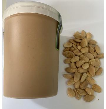 Crema de Almendra Tostada 100% Natural, 1 Kg