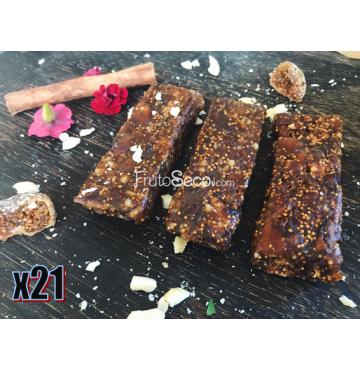 21 Barritas de Higo y Almendra