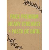 Pack Premium Heavy (Cremas)  + Pasta De Dátil