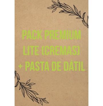 Pack Premium Lite (Cremas)  + Pasta De Dátil