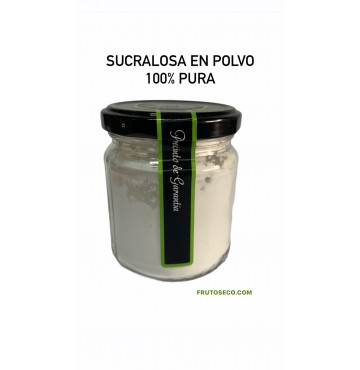 Sucralosa en polvo 100% PURA 100g