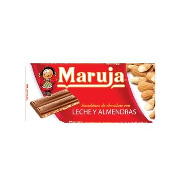 Chocolate Leche y Almendras LA MARUJA 150g