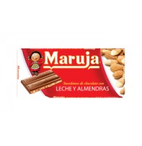 (x5) Chocolate Leche y Almendras LA MARUJA 150g