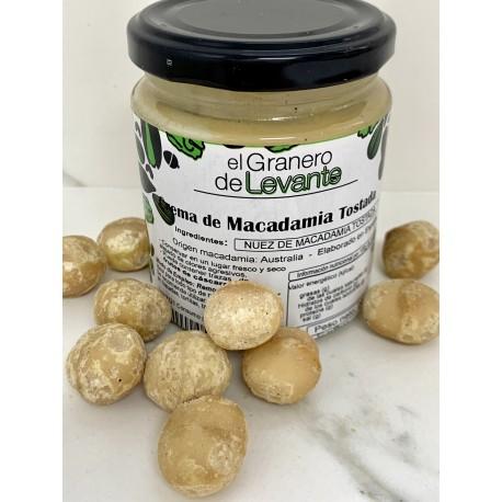 Crema de Macadamia Tostada 250g
