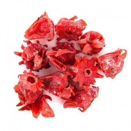 Flor de Hibisco deshidratada 1,5 Kg FORMATO AHORRO