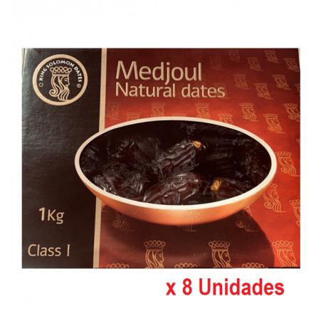 Dátil Natural Medjoul Medium 8Kg ( 8 UNIDADES X 1Kg)