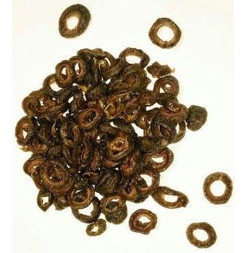 Aceitunas Verdes  deshidratadas en rodajas, bandeja 200 gramos