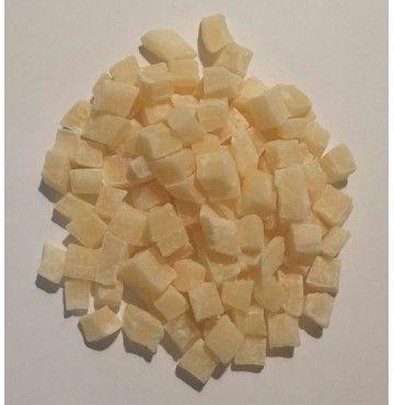 Coco Deshidratado en dados, bandeja 250 gramos
