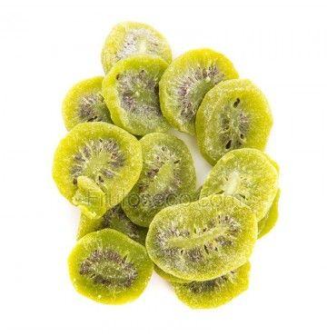 Kiwi deshidratado en rodajas, bandeja 250 gramos.