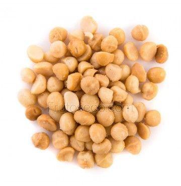 """Macadamias Fritas con aceite de Oliva y sal, bote 500 gramos """"envasado al vacío"""""""