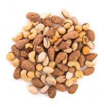 """Mezcla Especial - frutos secos seleccionados, bote 470 gramos """"envasado al vacío"""""""