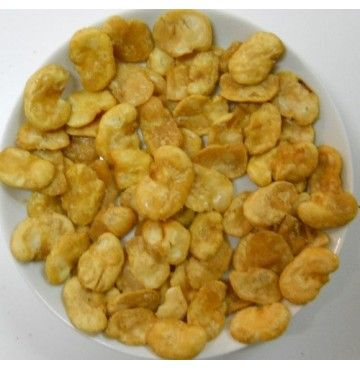 Habas fritas sin sal, bolsa 250 gramos