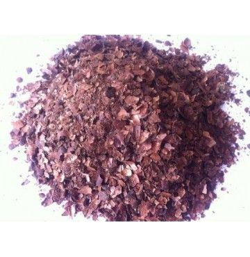 Cacao Cáscara seleccionada, bandeja 100 gramos