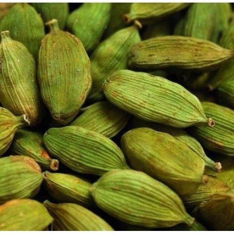 """Cardamomo Verde en grano, bote 50 gramos """"envasado al vacío"""""""