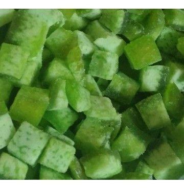 Pomelo Verde deshidratado en dados, bandeja 250 gramos