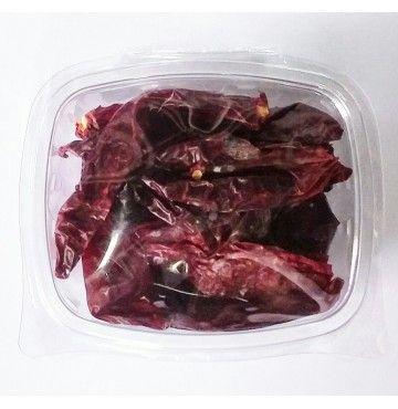 Pimiento Rojo Seco Desrabado, bandeja 50 gramos