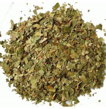 Abedul hojas, bandeja 100 gramos