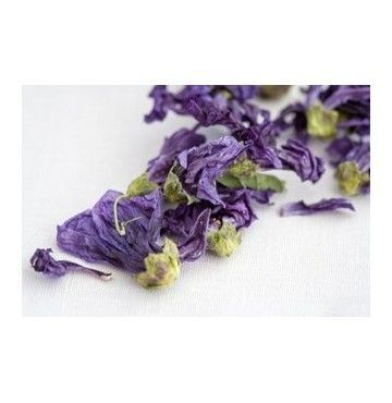 Malva flor, bandeja 100 gramos