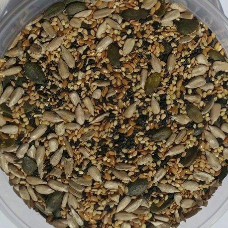 Mix de 8 semillas, bolsa 250 gramos