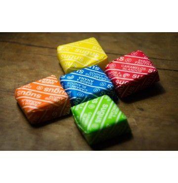 Pictolín Sabores Masticables Sin Azúcar, bolsa 70 gramos