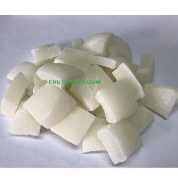 Coco deshidratado Trozos Grandes, bandeja 200 gramos