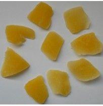 Mango deshidratado en dados, bandeja 250 gramos