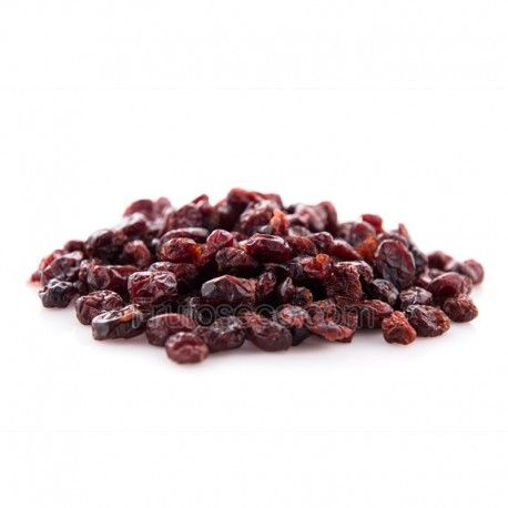 Arándanos rojos deshidratados sin azúcar 250g